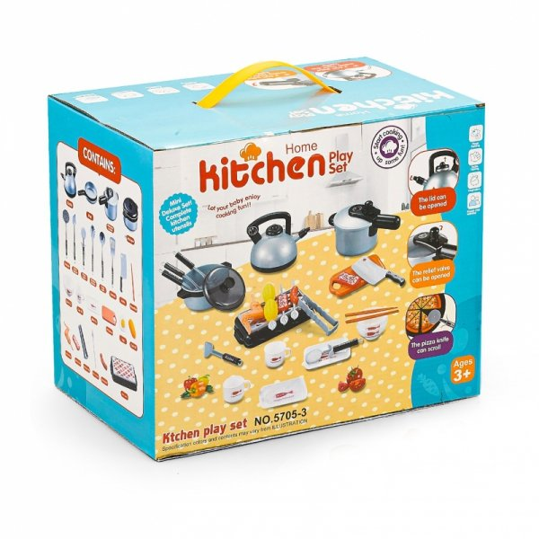 Mini kuchnia garnki akcesoria do kuchni dla dzieci
