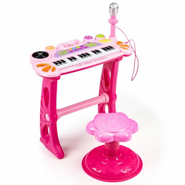 Keyboard organki pianinko z mikrofonem mp3