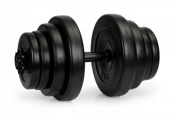 Hantelki hantle 40 kg duży zestaw 2x 20kg fitness