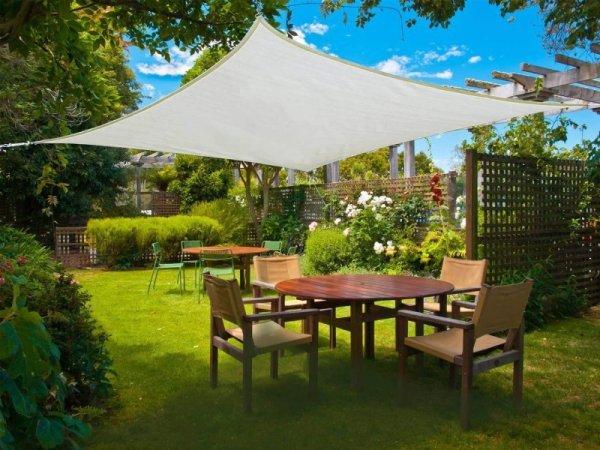 Żagiel przeciwsłoneczny ogród daszek parasol 3x4m