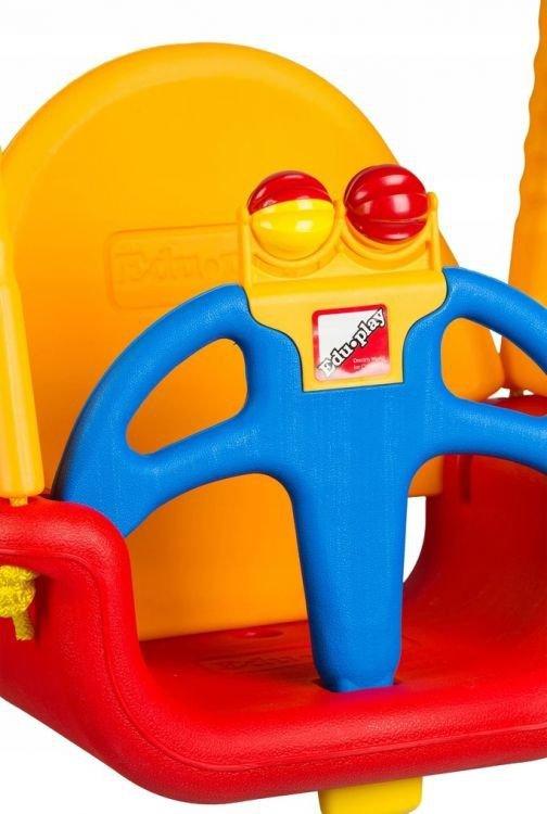 Huśtawka ogrodowa kubełkowa domowa dla dzieci 3w1