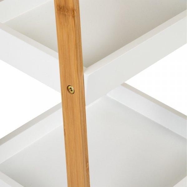 Regał szafka półka stoliczek nocny bambus