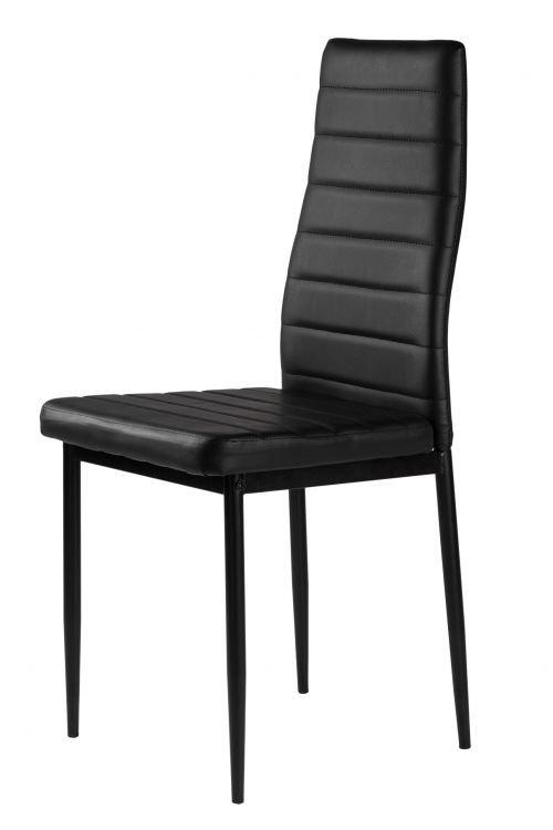 Zestaw czterech krzeseł tapicerowanych