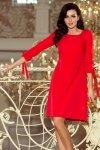 Sukienka z kokardkami Alice - Czerwona