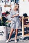 Zwiewna sukienka Spring - Biała - StreetStyle 671