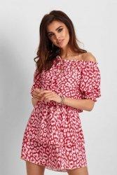 Sukienka Dagna w czerwone centki - Ivon