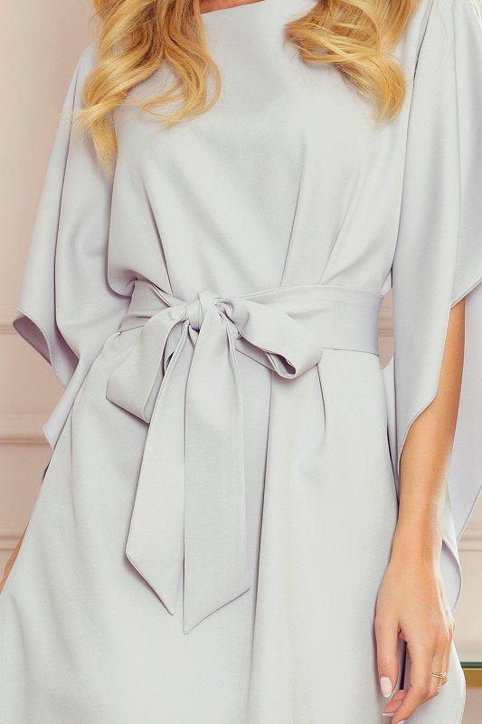 Sukienka motyl Sofia  - SZARA
