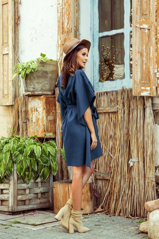 Sukienka motyl Sofia - Niebieska