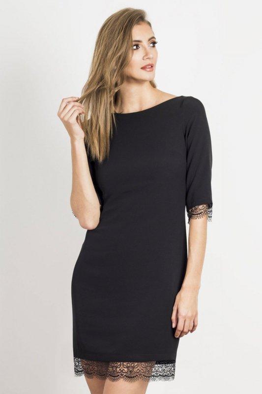 Sukienka Hilary  - Czarna - Ivon