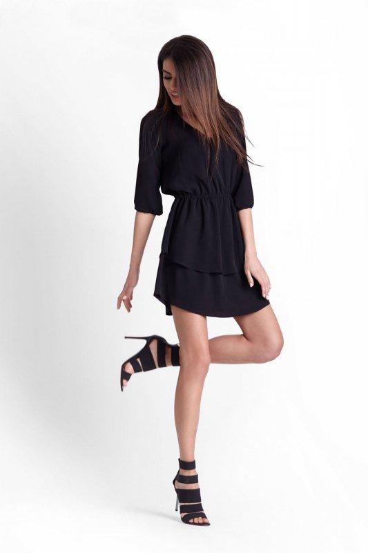 Sukienka Lucinda -Czarna - StreetStyle 514