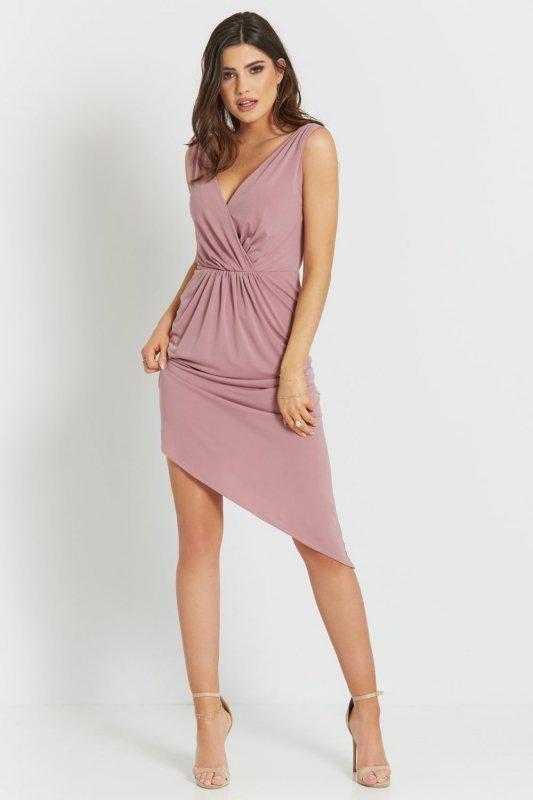 Sukienka Gaja - Brudny Róż