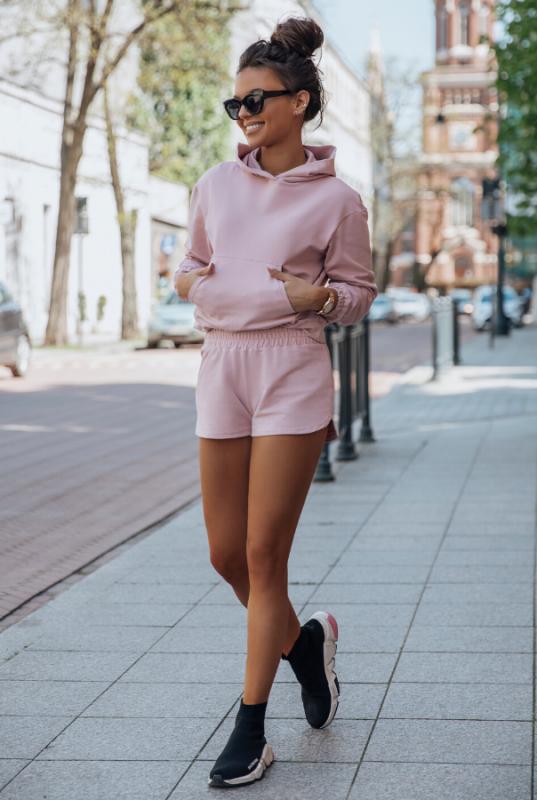Komplet dresowy Kango - Różowy - Streetstyle