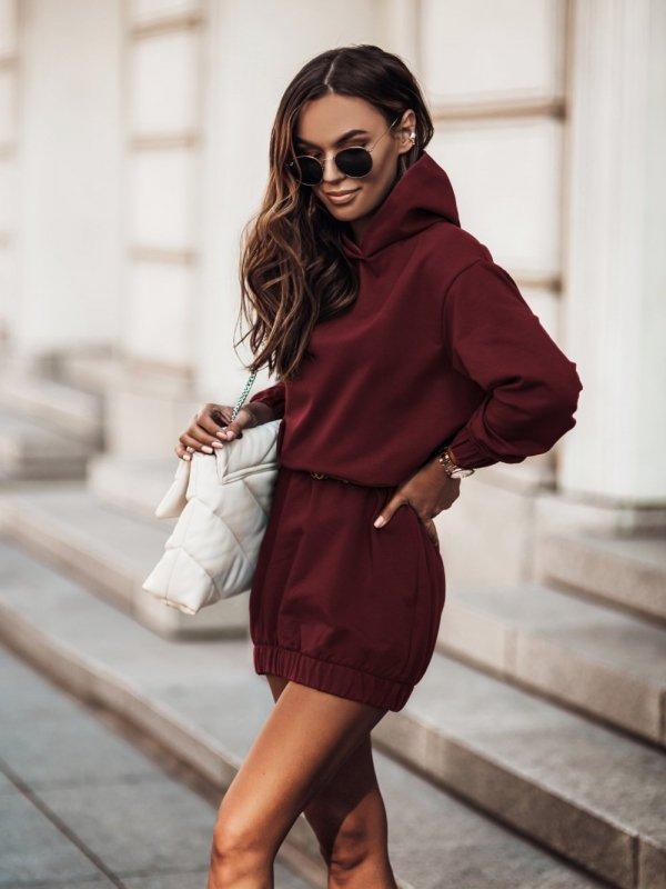 Dresowa-sukienka-Vera -bordowa-1