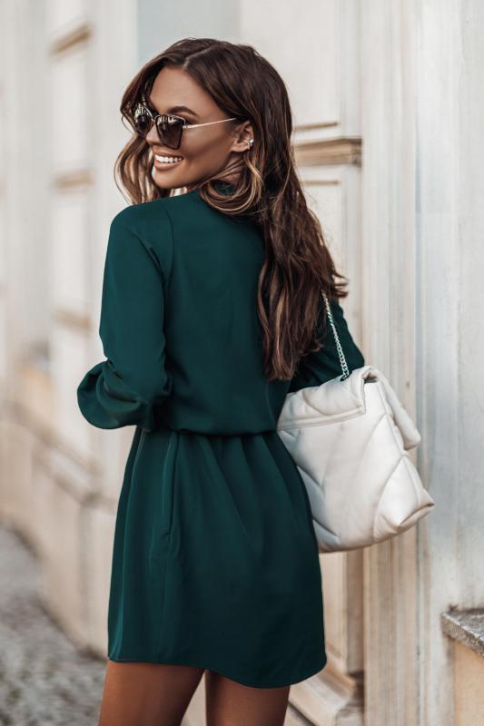 Sukienka-Malvina-Butelkowa-Zielen-2