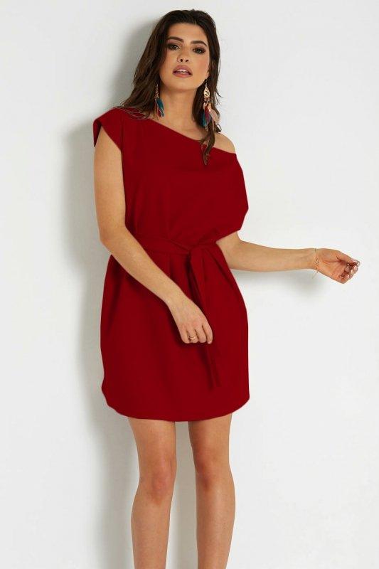 Sukienka Valencia 297 - czerwona_2.jpg
