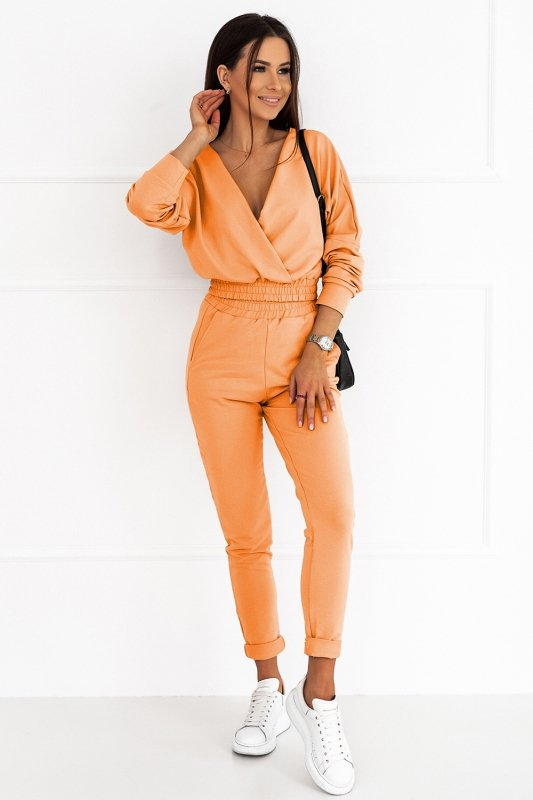 Komplet dresowy Perfect - Pomarańcz - od StreetStyle - 2