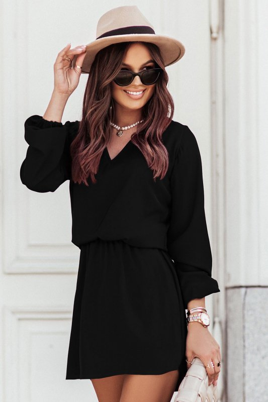 Sukienka CARLA - czarna - 1