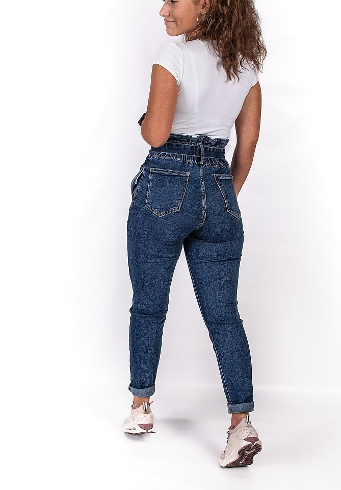 Jeansy mom fit - StreetStyle - 8
