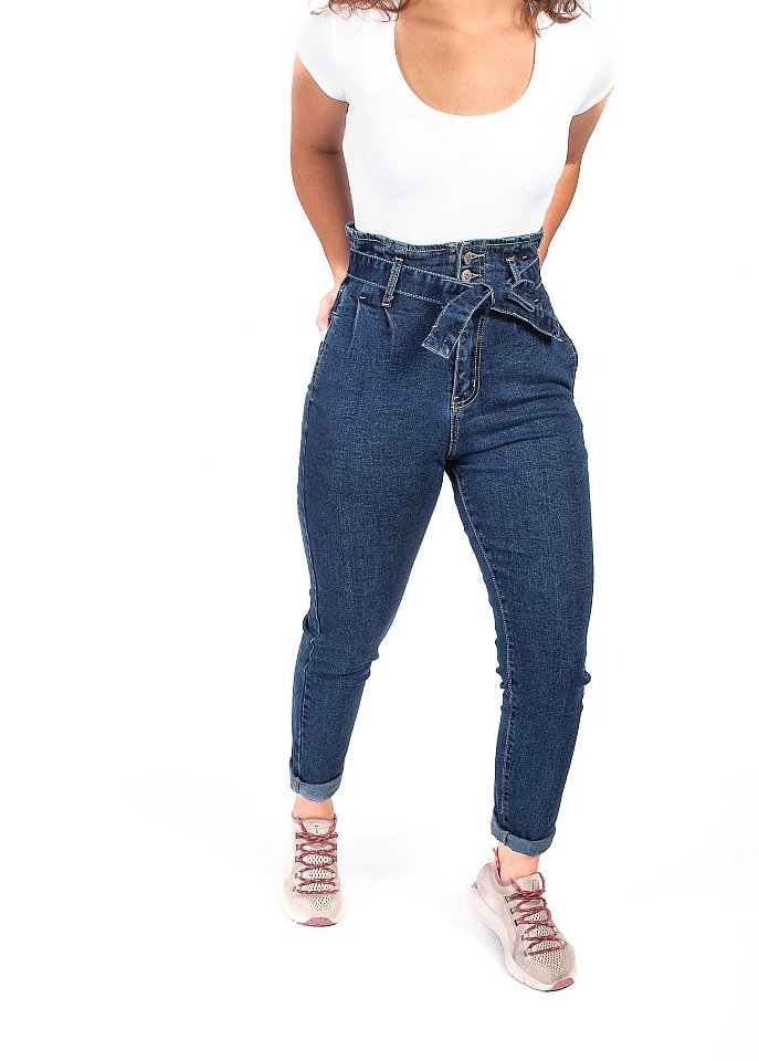 Jeansy mom fit - StreetStyle - 5