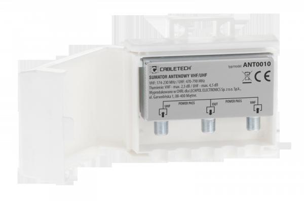 Zwrotnica - sumator antenowy VHF/UHF power pass
