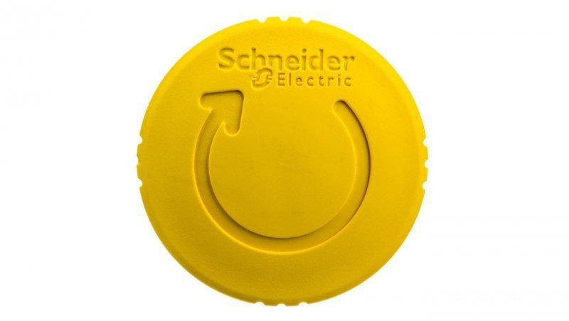 SCHNEIDER Napęd przycisku grzybkowego żółty przez obrót ZB5AS55