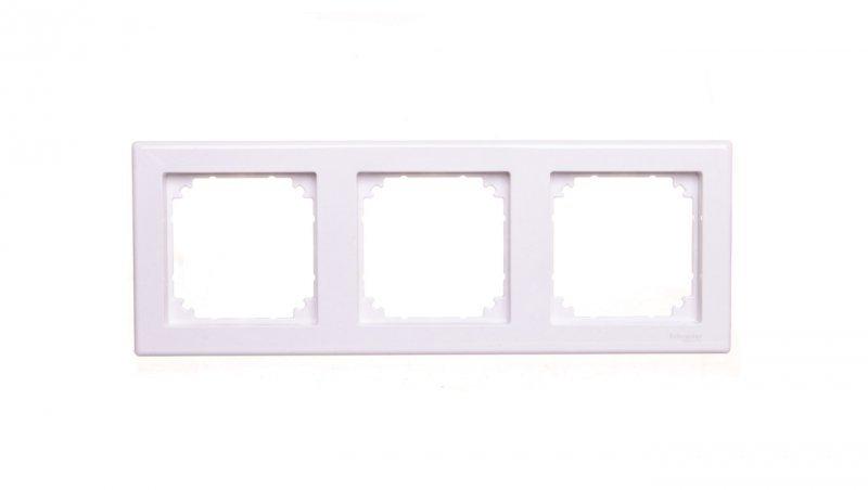 SCHNEIDER Merten M-Smart Ramka potrójna biała MTN478325