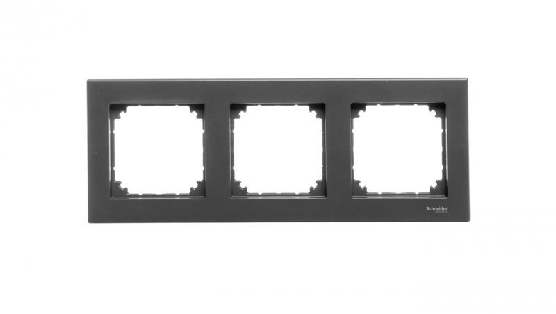 Merten M-Plan Ramka potrójna antracyt MTN486314