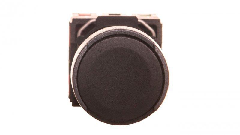 SCHNEIDER Przycisk 1-biegunowy mechanizm z plakietką czarny IP65 przycisk 1x XB6AA25B