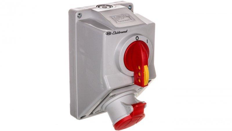 Zestaw instalacyjny z gniazdem 4P (0-I) 16A IP54 C16-18 971601