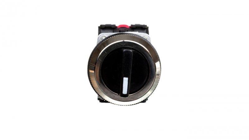 Przycisk sterowniczy pokrętło trzypozycyjny 30mm czarny 2Z/2R W0-NEF30-TPE 2X2Y S