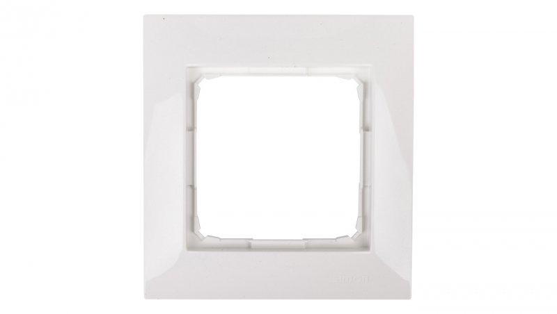 Kontakt Simon 54 Premium Ramka pojedyncza biała /do karton-gips/ DRK1/11