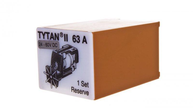 EATON Wtyk bezpiecznikowy D02/gG/63A/400V Z-SLS/B/24-63A z sygnalizacją 269004 (3szt.)