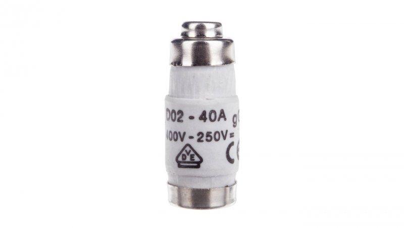 HAGER Wkładka bezpiecznikowa BiWtz 40A D02 gG 400V LE1840