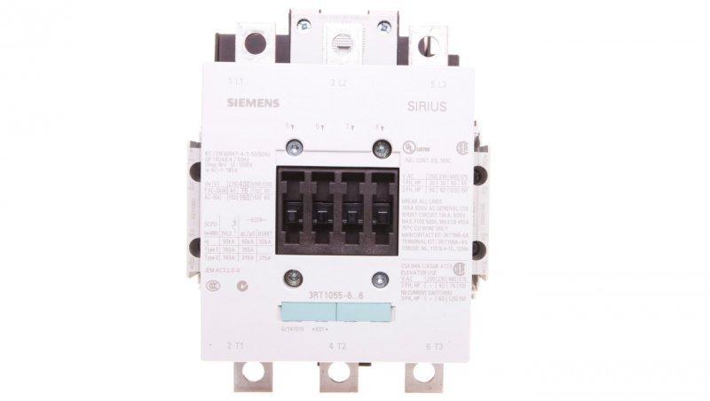 Stycznik mocy 150A 3P 220-240V AC 2Z 2R S6 3RT1055-6AP36