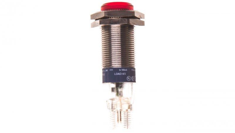 Czujnik fotoelektryczny Sn=2m M18 1Z PNP 12-24V DC 3-przewodowy XUB9BPANM12