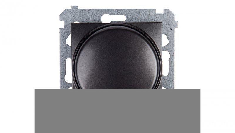 Simon 54 Ściemniacz naciskowo-obrotowy 20-500W antracyt DS9T.01/48