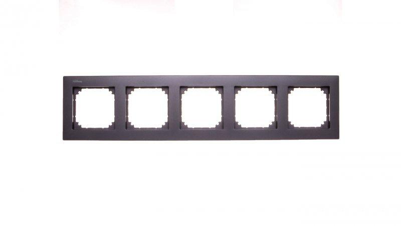 Merten M-Plan Ramka pięciokrotna antracyt MTN486514