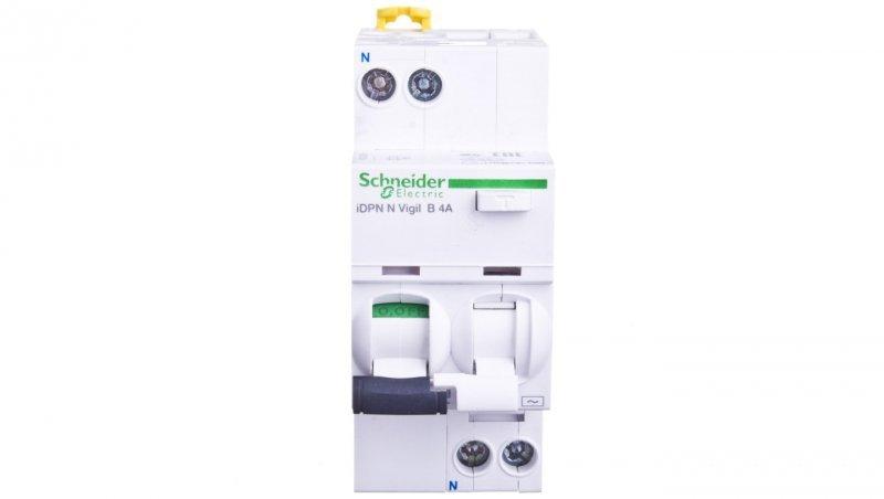 Wyłącznik różnicowo-nadprądowy 2P 4A B 0,03A typ AC iDPN N VIGI A9D55604
