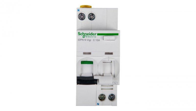 Wyłącznik różnicowo-nadprądowy 2P 10A C 0,03A typ AC iDPN N VIGI A9D31610