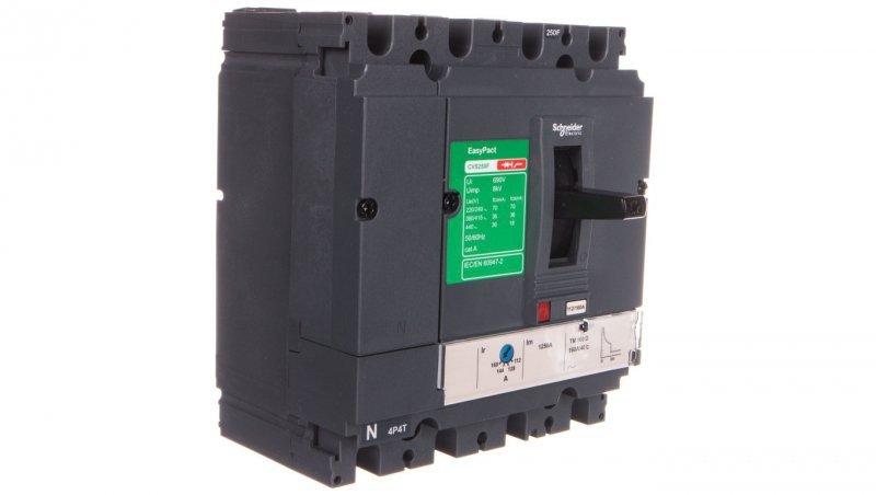 Wyłącznik mocy 160A 4P 36kA EasyPact CVS250 TM160D LV525351