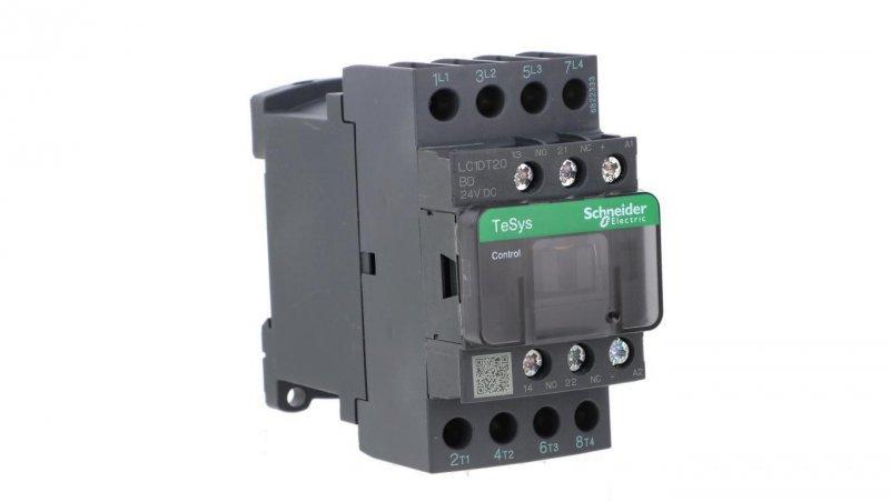 Stycznik mocy 20A AC-1 4P 24V DC 1Z 1R LC1DT20BD