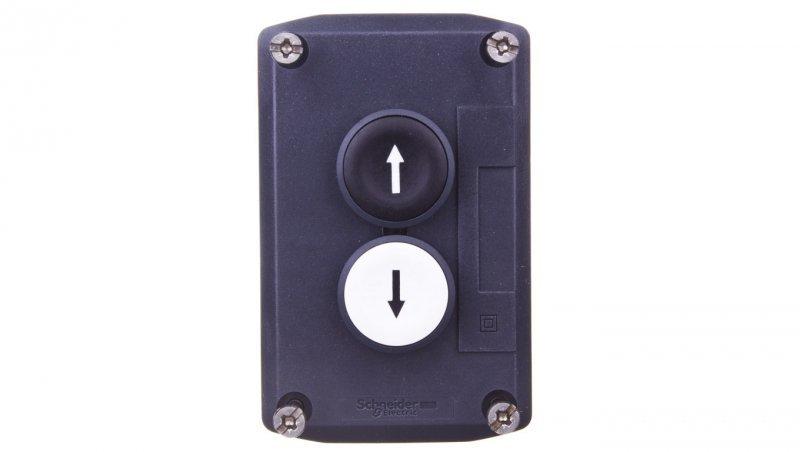 Kaseta sterownicza 1Z/ 1R jasnoszara IP66 XALD223