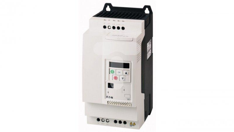 Przemiennik częstotliwości 7,5kW Uwe=3x400V Uwy=3x400/18A IP20 DC1-34018FB-A20CE1 185761
