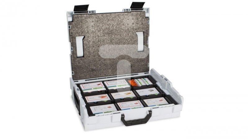 Zestaw złączek instalacyjnych /2273,773,221,224,243/ + walizka L-Boxx 887-913