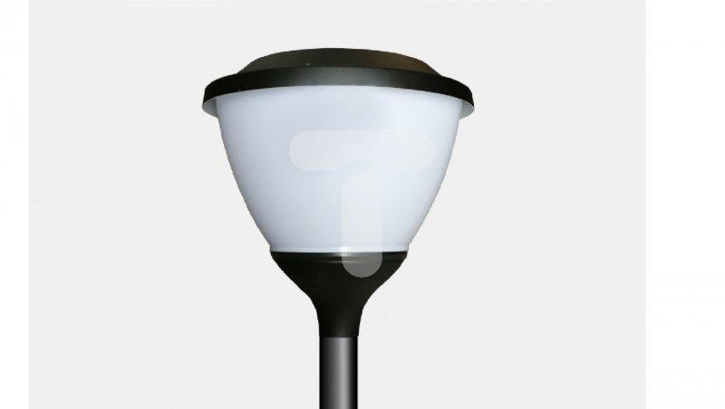 Oprawa parkowa LED 55W OCP MILEDIA 2 419.LED 830 4700lm OPAL RAL9005 DRV 3682100