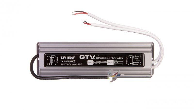 Zasilacz LED wodoodporny 150W IP67 DC 12V LD-WZA150W-NW