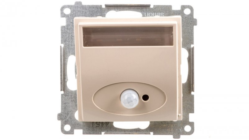 Simon 54 Oprawa oświetleniowa LED 230V z czujnikiem ruchu kremowy DOSC.01/41
