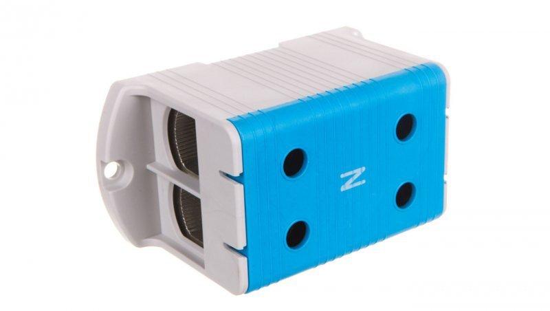 Złączka szynowa 1-torowa ZJUN 2x240 niebieska R34RR-07010021801
