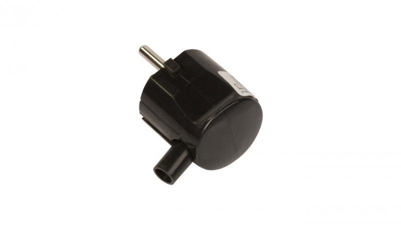 SCHNEIDER Wtyczka uni-schuko 16A W-50K czarna W50K05