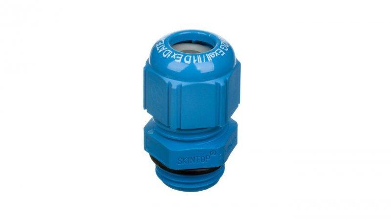Dławnica kablowa poliamidowa M16 IP68 SKINTOP KR-M 16 ATEX plus niebieska 54115415
